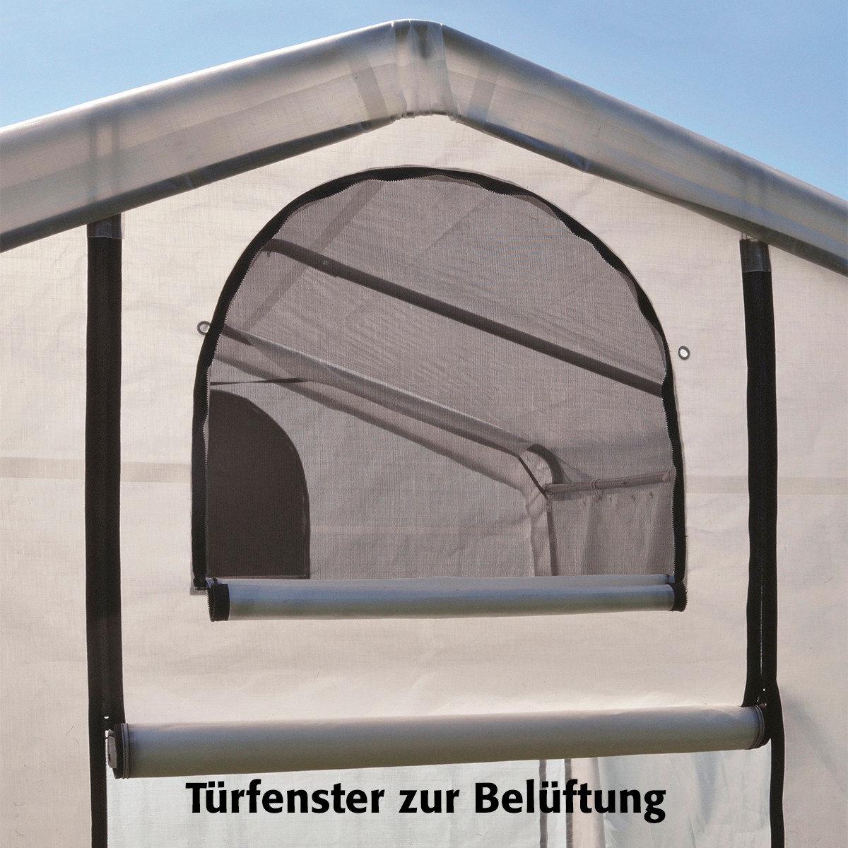 ShelterLogic Folien-Gewächshaus 3,24m² inkl. Sturmanker | #2