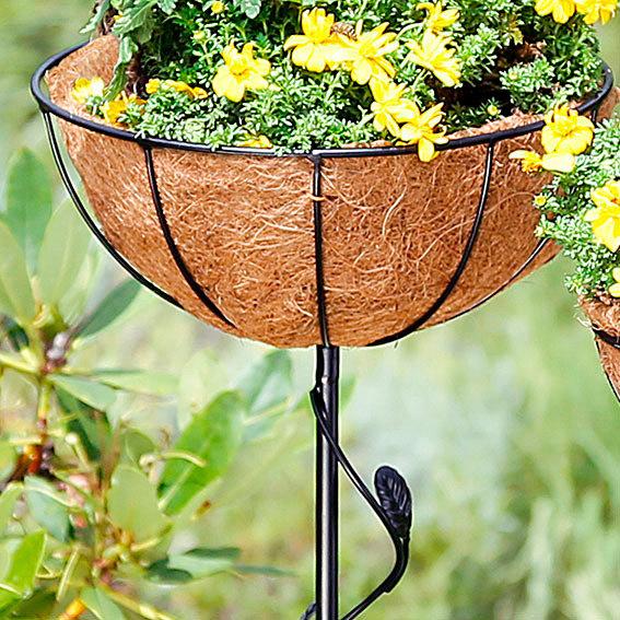 Standkörbe Blumenglück, 2er-Set, inkl. Pflanzeinsätze | #2
