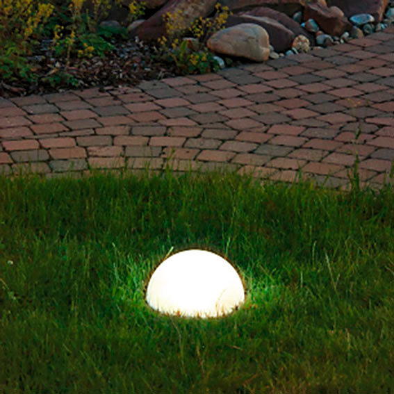 Solar-LED-Halbkugel Moon, Durchmesser 25 cm | #2