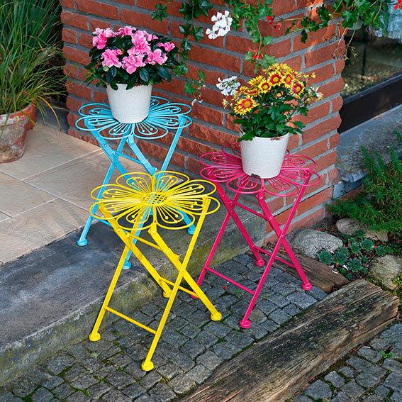 Blumentisch Colore Fleur gelb | #2