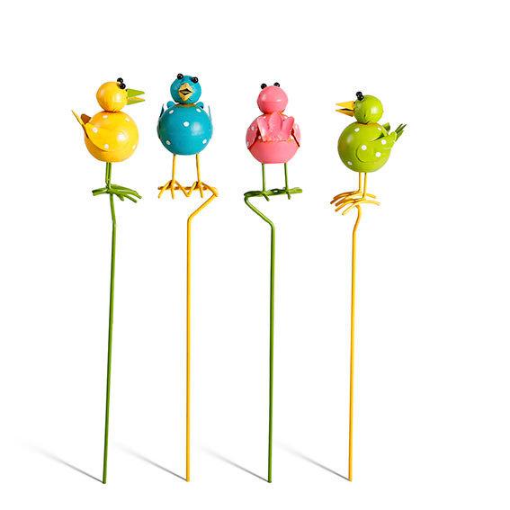 Beetstecker Bunte Vogelschar, 4er-Set | #2