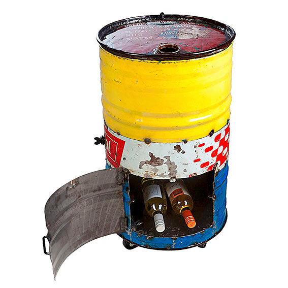 Eiskühler Tonne, Unikat aus recycelten Ölfässern | #2