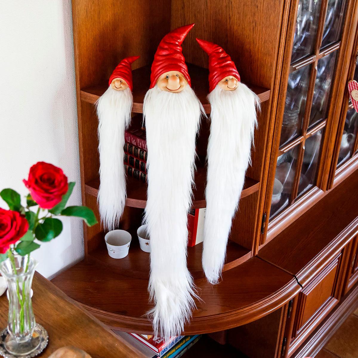 Weihnachts-Wichtel Rauschebart, mittel | #2