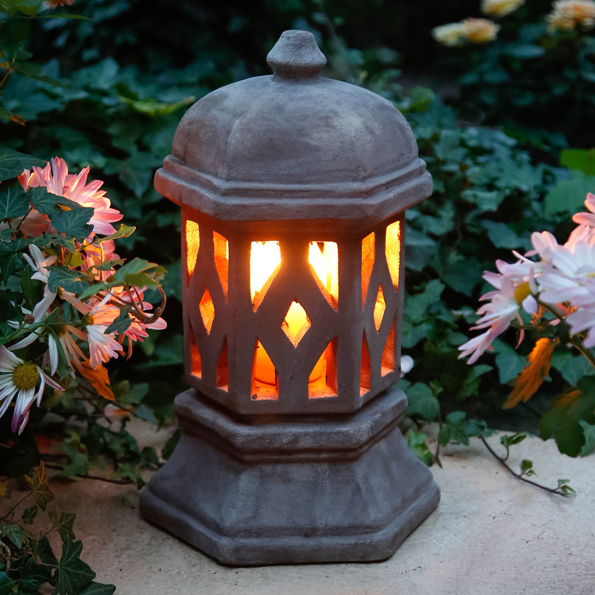terracotta lampe aladin von g rtner p tschke. Black Bedroom Furniture Sets. Home Design Ideas