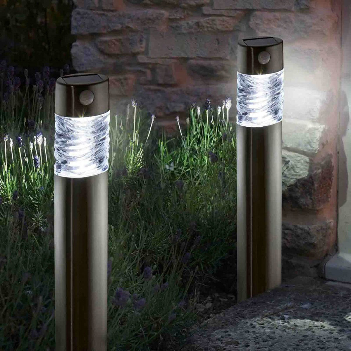 LED-Solar-Leuchte Vertico, 2er-Set | #2