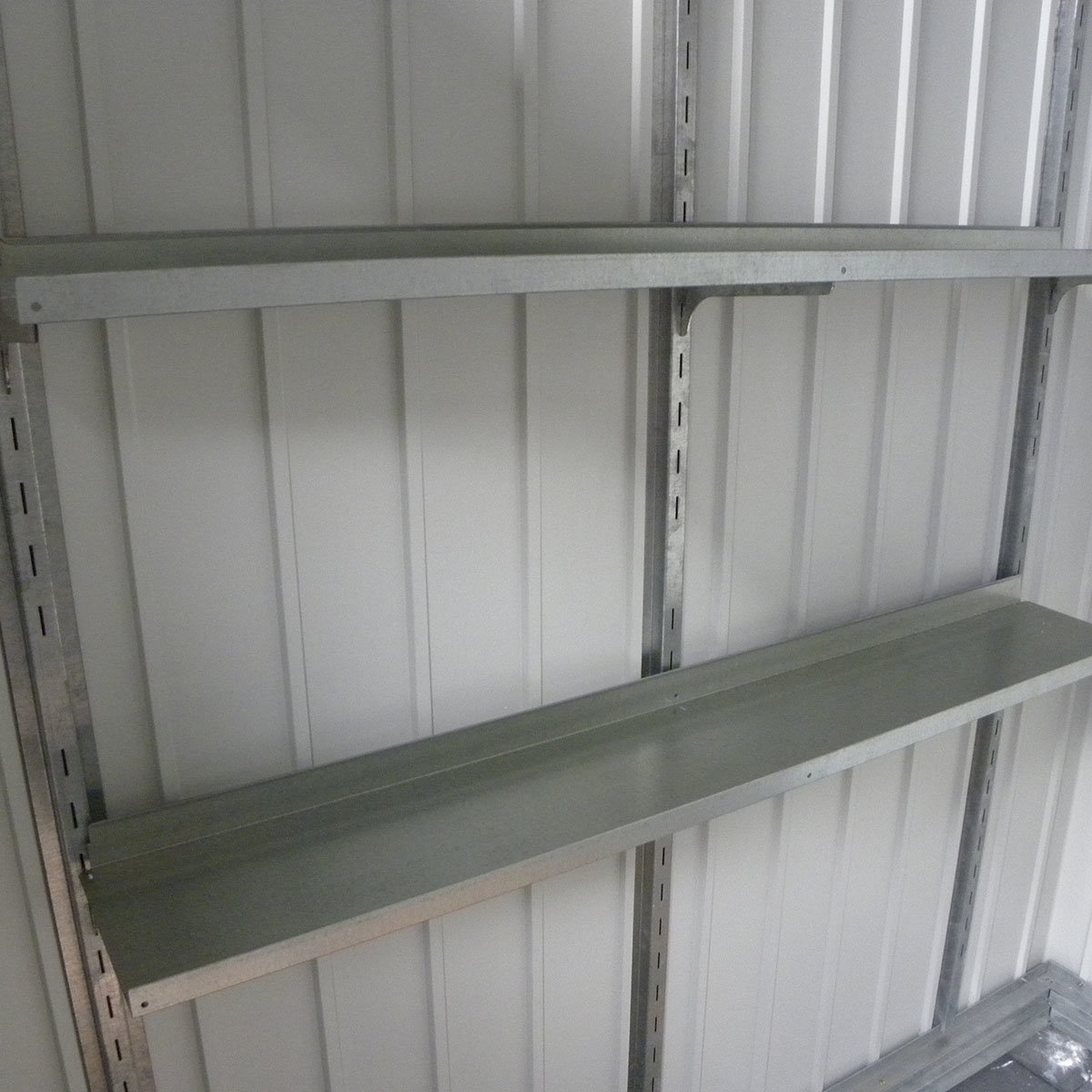 Regalset für Metallgerätehaus Palladium | #2