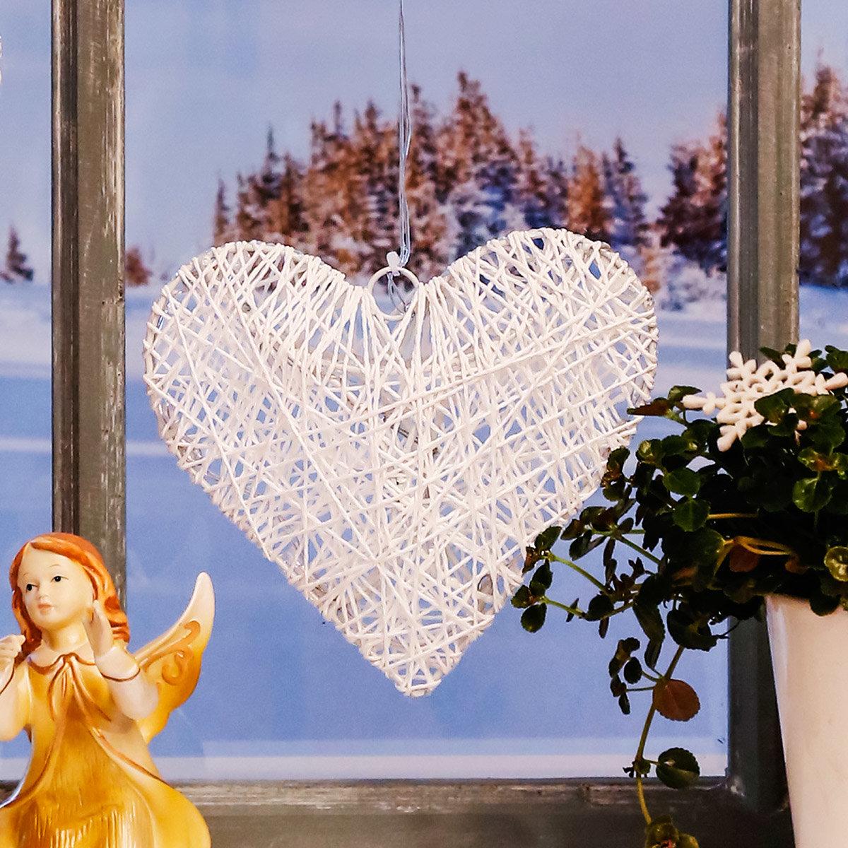 LED-Fensterdeko Winterherz | #2