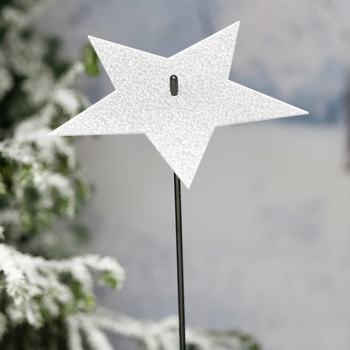 Gartenstecker Winterspiegel, groß | #2