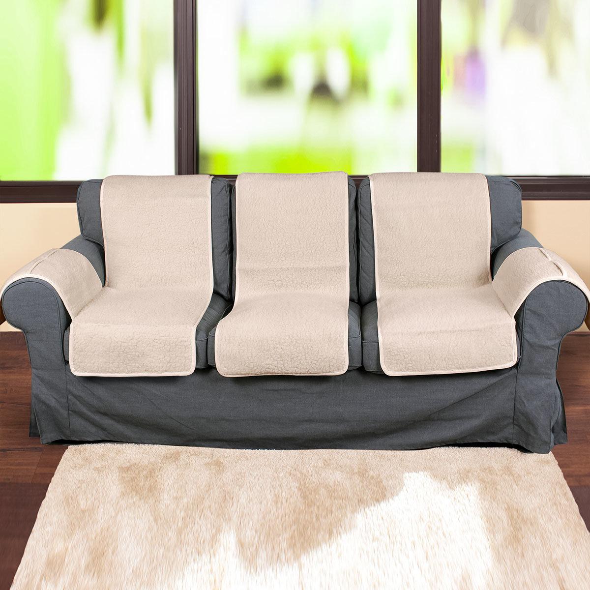 schurwoll schoner gro vaters liebling f r sofas. Black Bedroom Furniture Sets. Home Design Ideas