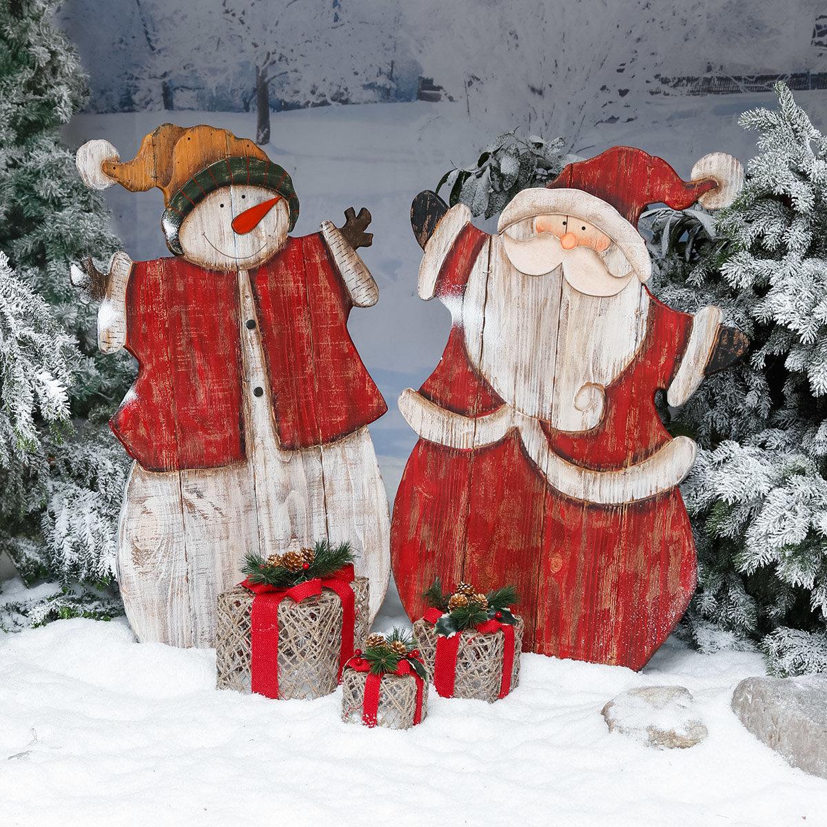 Xxl landhaus weihnachtsmann woody von g rtner p tschke for Gartendeko neuheiten
