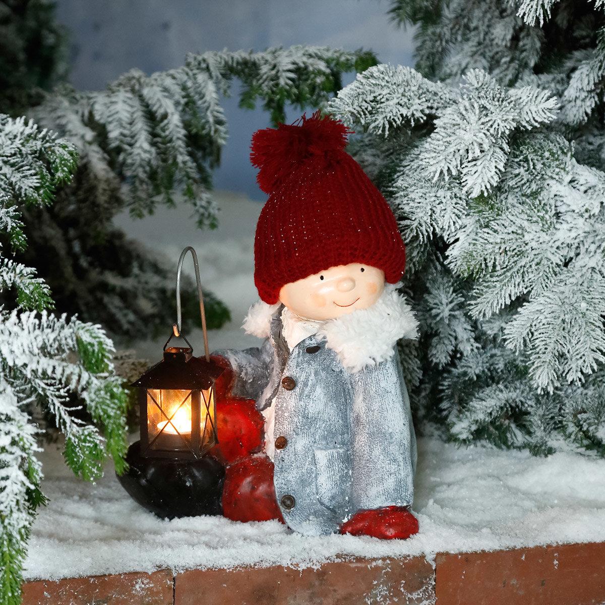 Winterkind Lukas mit Laterne | #2