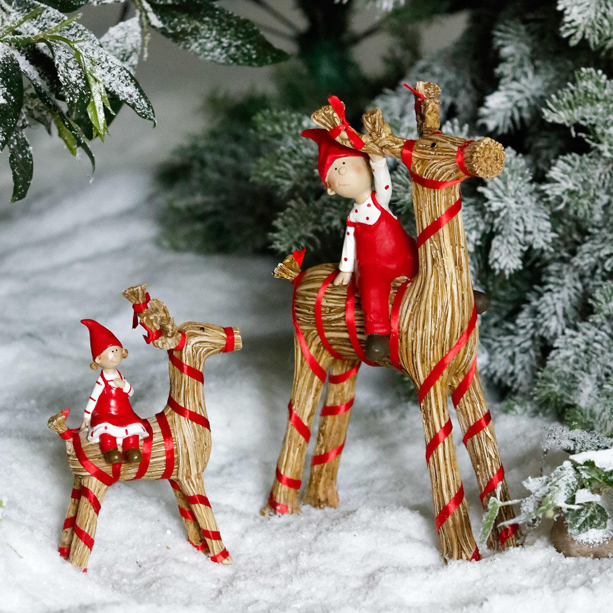 Weihnachtsfigur Julbock, klein | #2