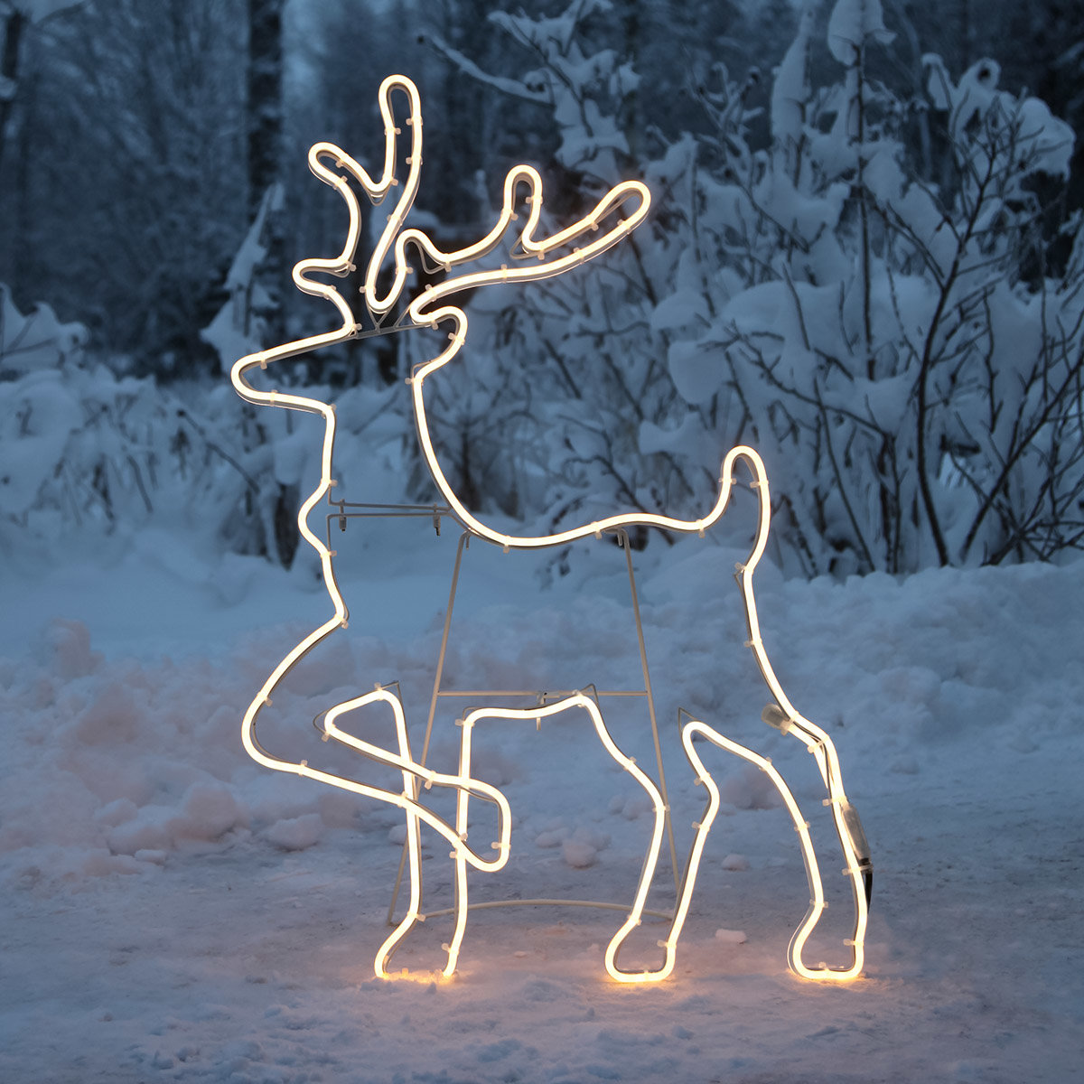 LED-Rentier-Silhouette Polaris | #2