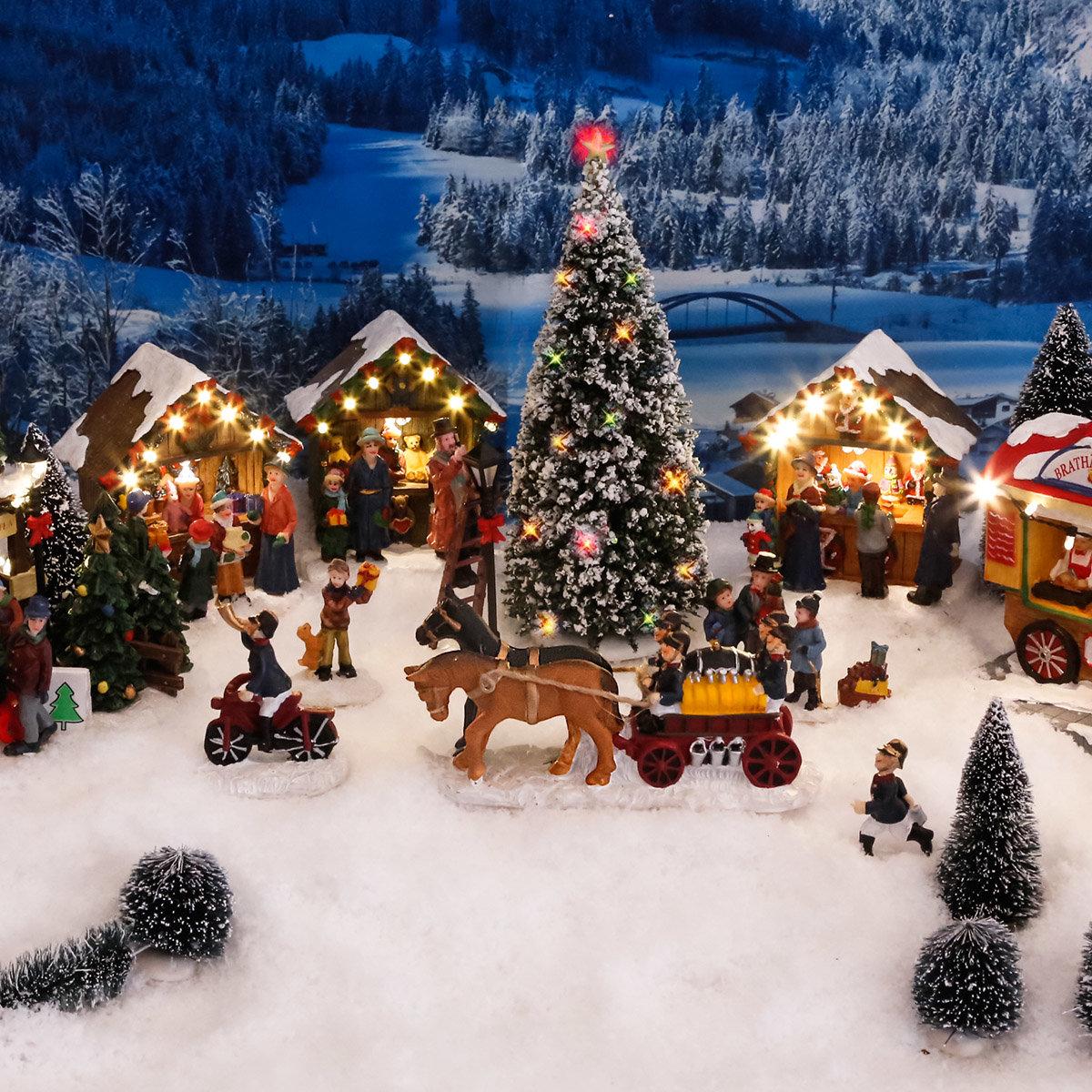 Miniatur-LED-Weihnachtsbaum | #2