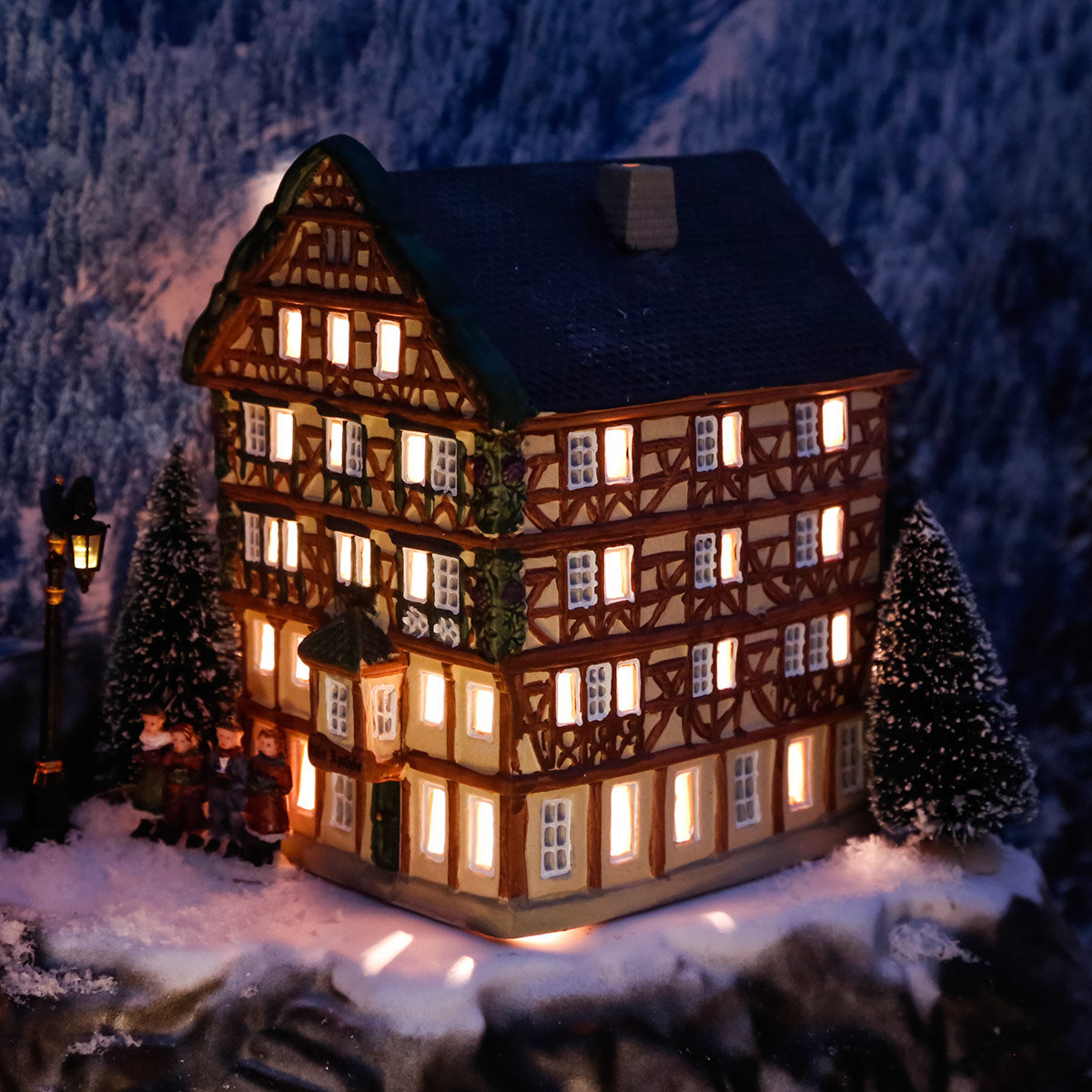 Miniatur-Lichthaus Adler-Apotheke in Bernkastel-Kues | #2