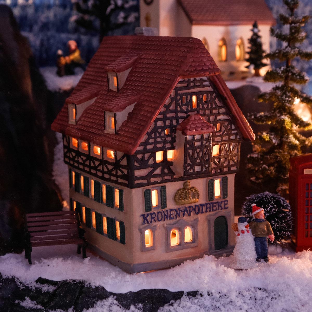 Miniatur-Lichthaus Kronen Apotheke   #2