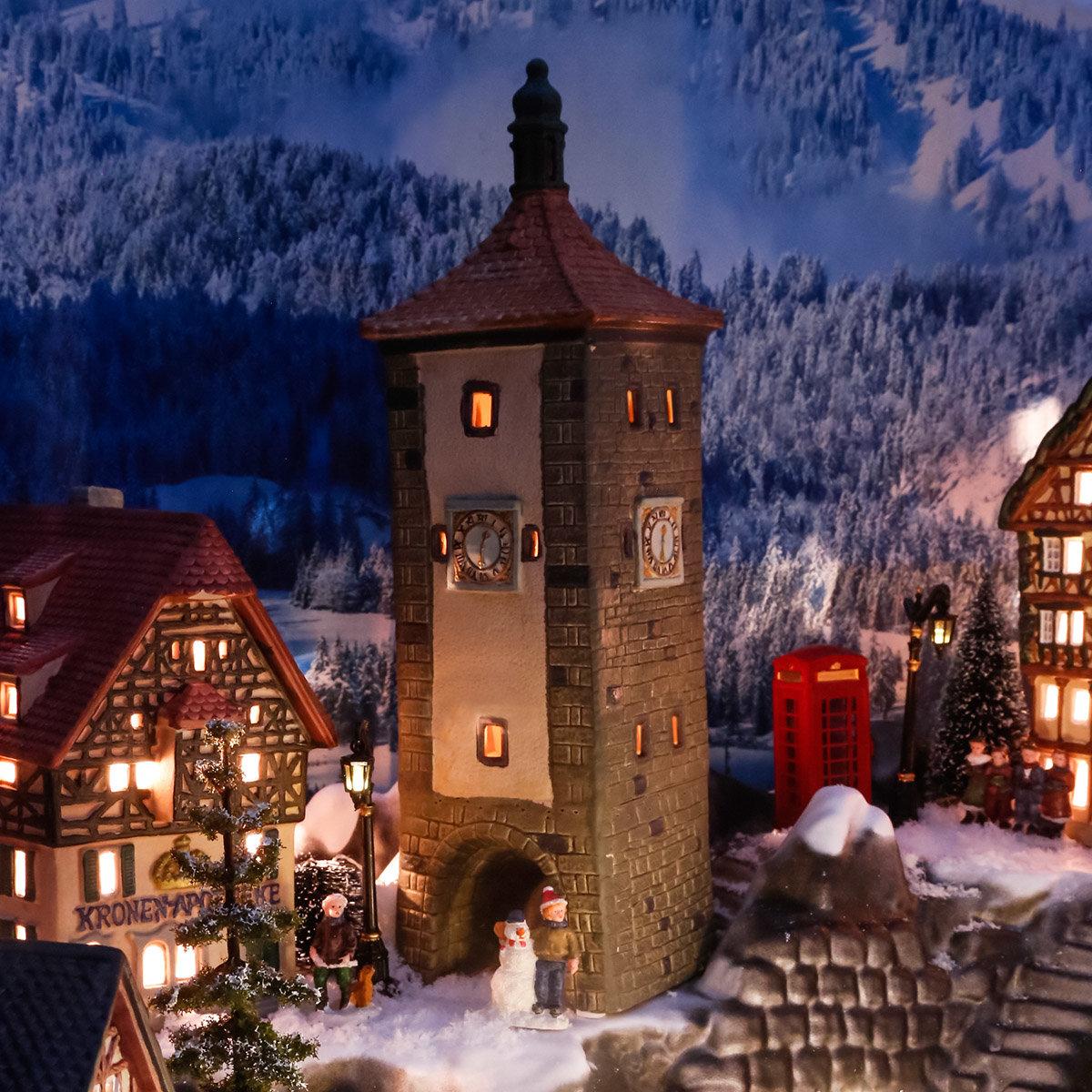 Miniatur-Lichthaus Siebertsturm in Rothenburg | #2