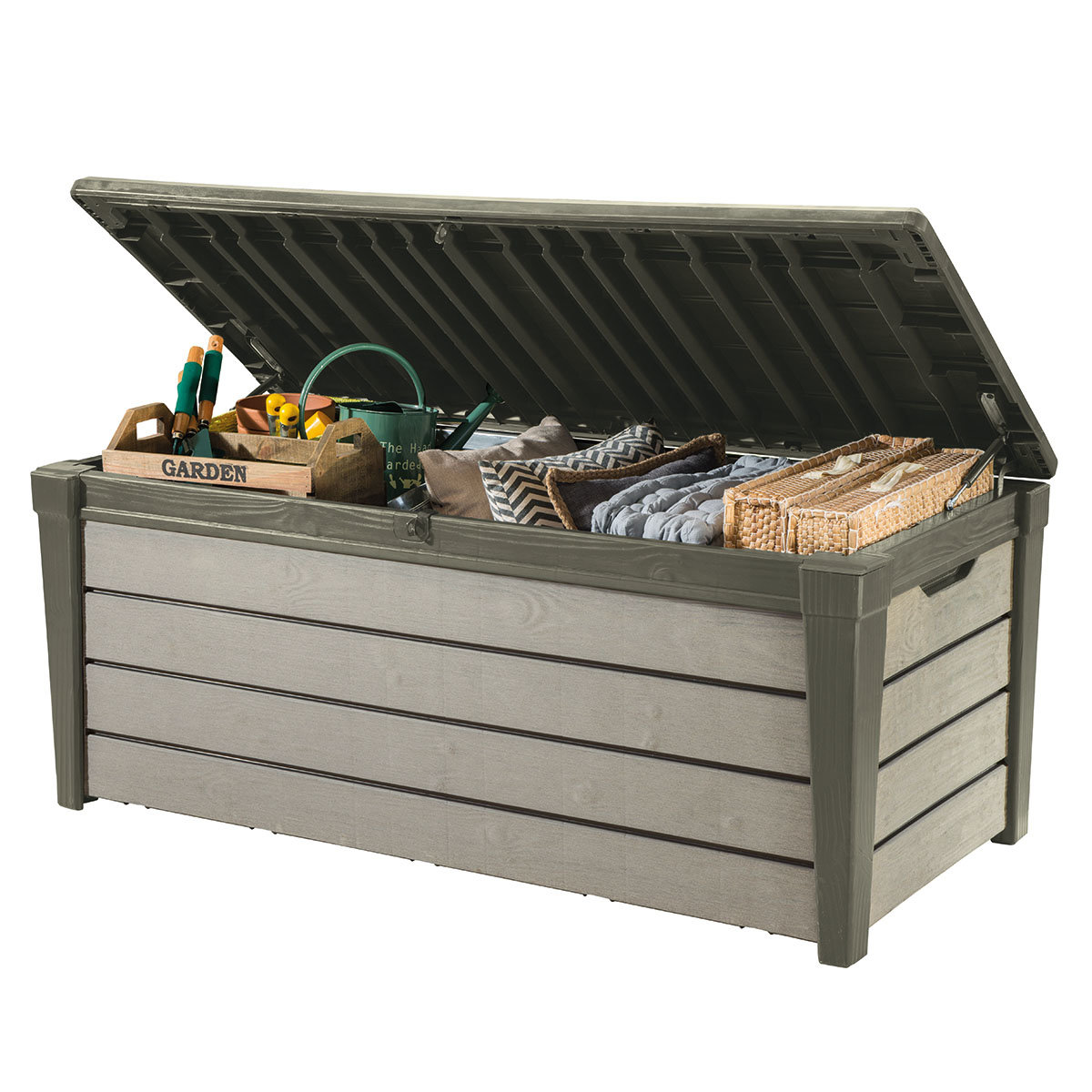 Brushwood Box 455 Liter Taupe | #2