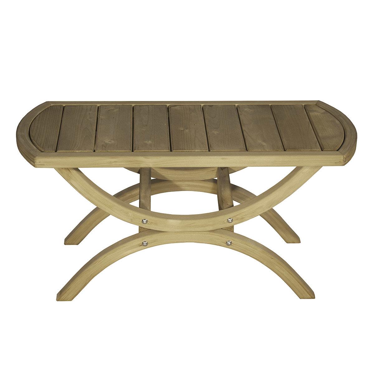 Gartentisch Tavolino Beistelltisch Braun Online Kaufen Bei Gartner