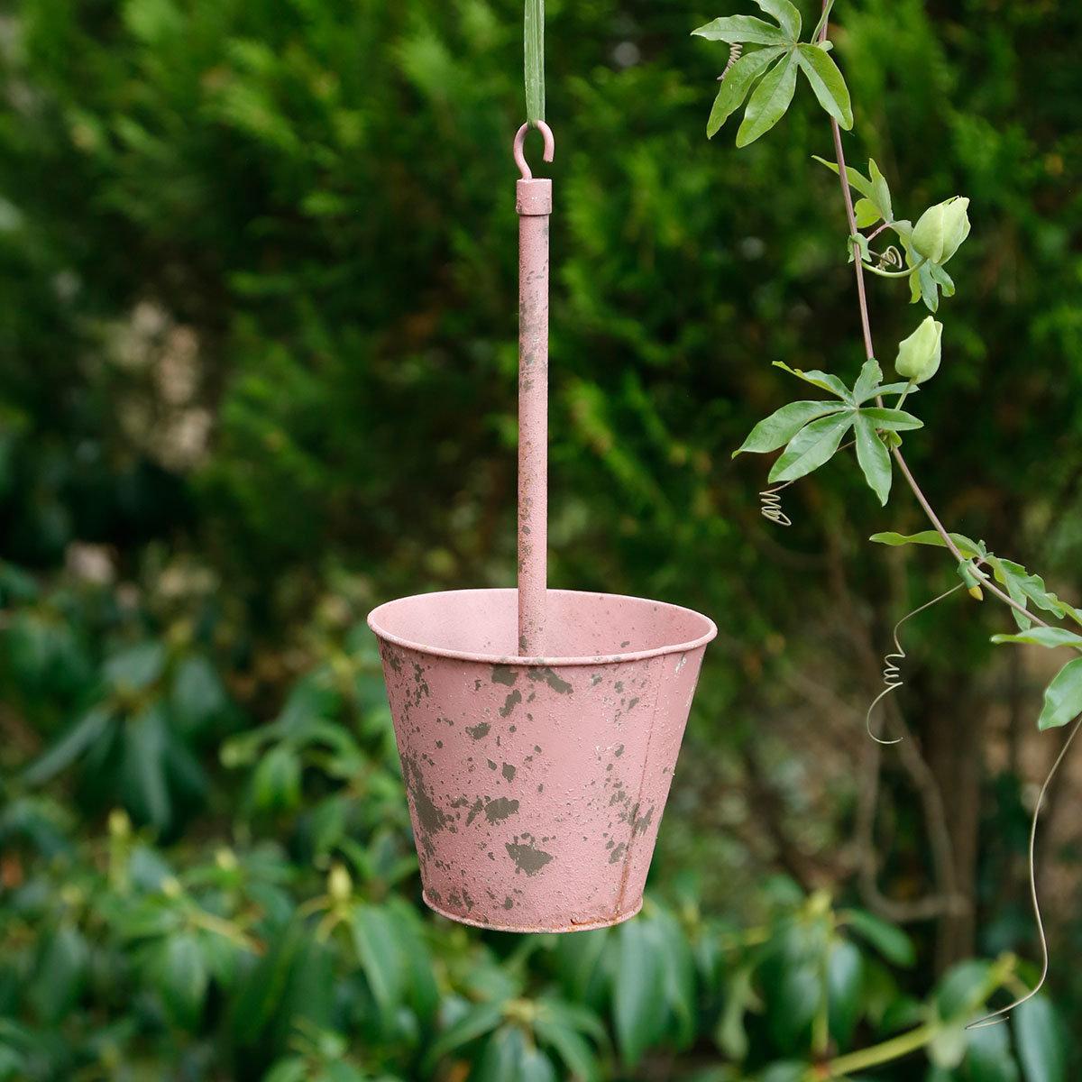 Hängende Pflanztöpfe Swing pink, 3er-Set   #2