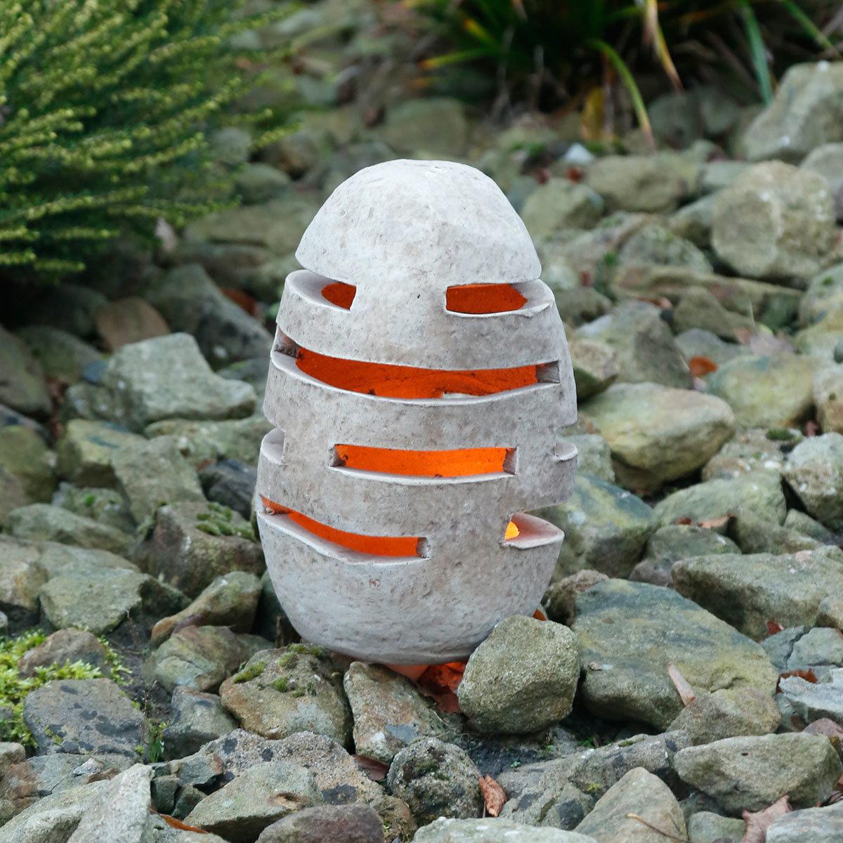 Terracotta-Gartenleuchte, klein | #2