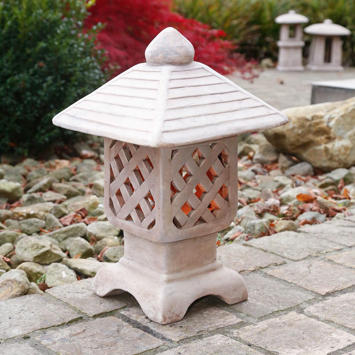 Terracotta-Gartenlaterne Hikari   #2