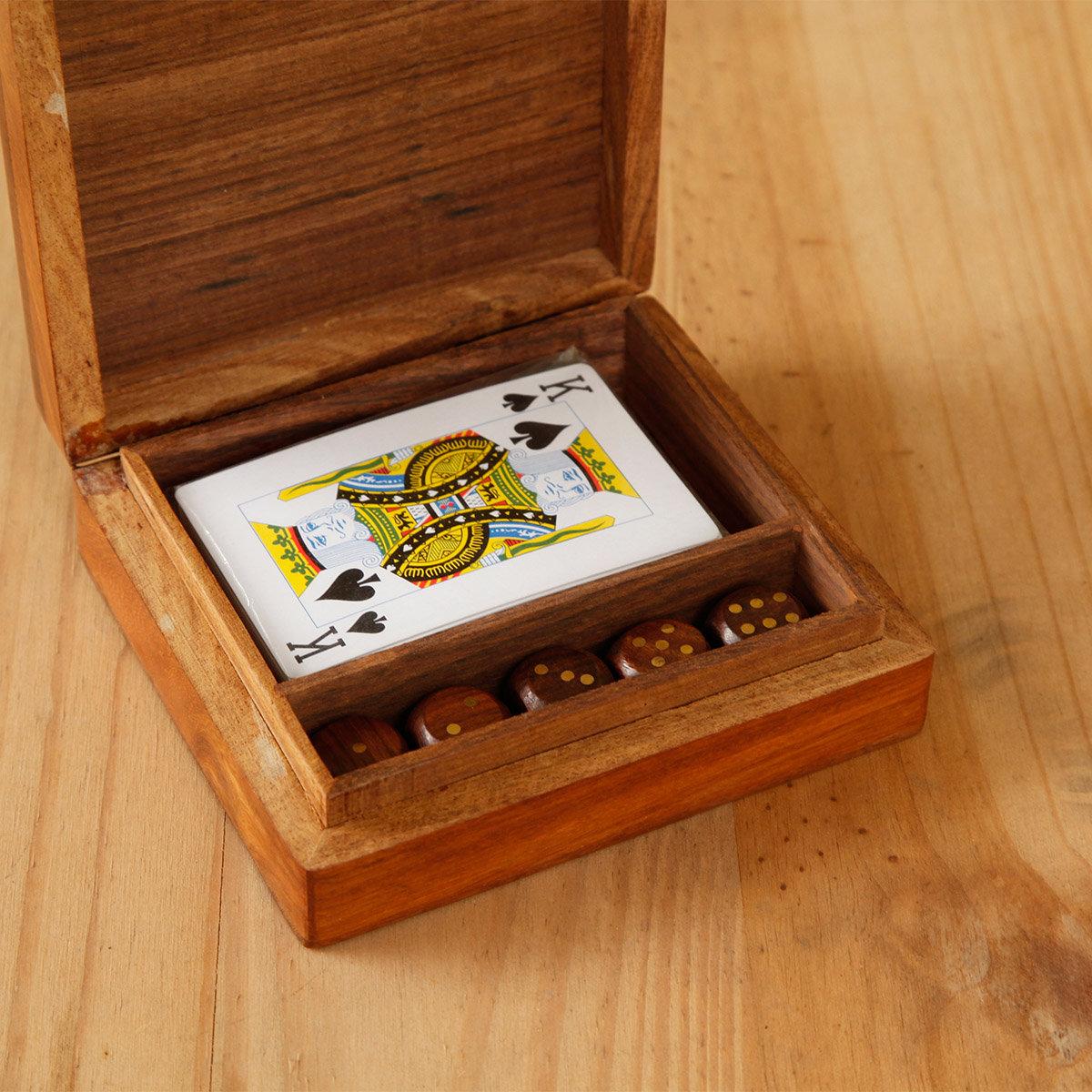Spielkarten-Set mit Würfeln | #2
