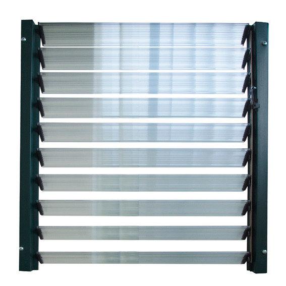 Lamellenfenster zur Gewächshausbelüftung | #2