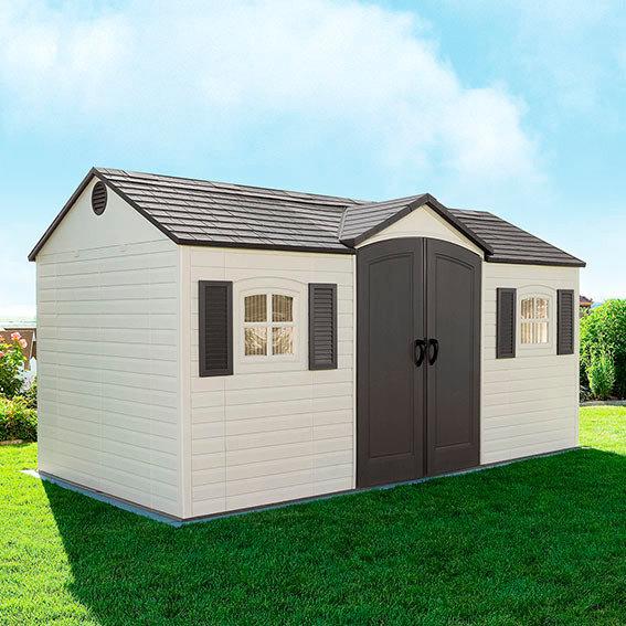 Lifetime Gerätehaus Garten-Villa inklusive Zubehör | #2