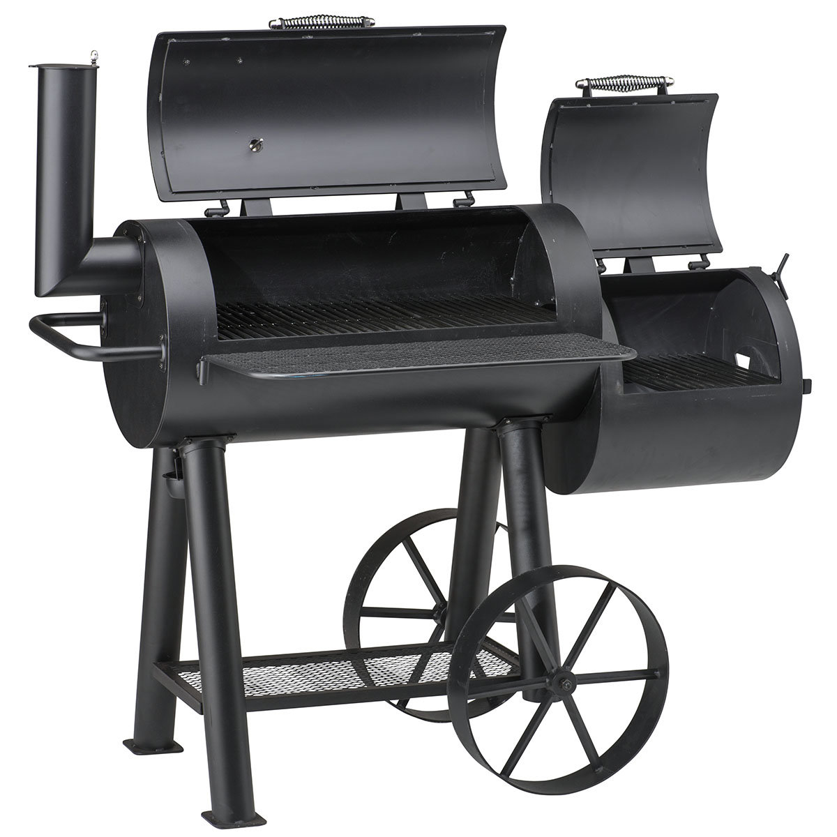 holzkohlegrill smoker tennesse 400 online kaufen bei g rtner p tschke. Black Bedroom Furniture Sets. Home Design Ideas