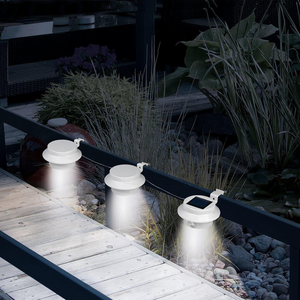 dachrinnen leuchten mit bewegungsmelder von g rtner p tschke. Black Bedroom Furniture Sets. Home Design Ideas