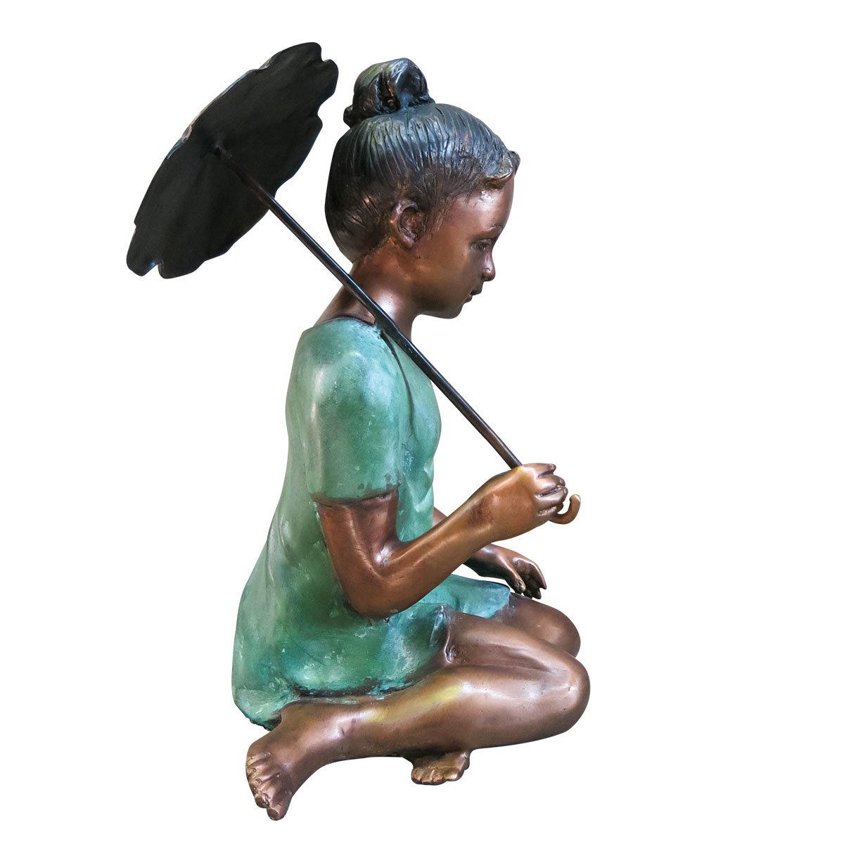 Bronzefigur Friederike | #2