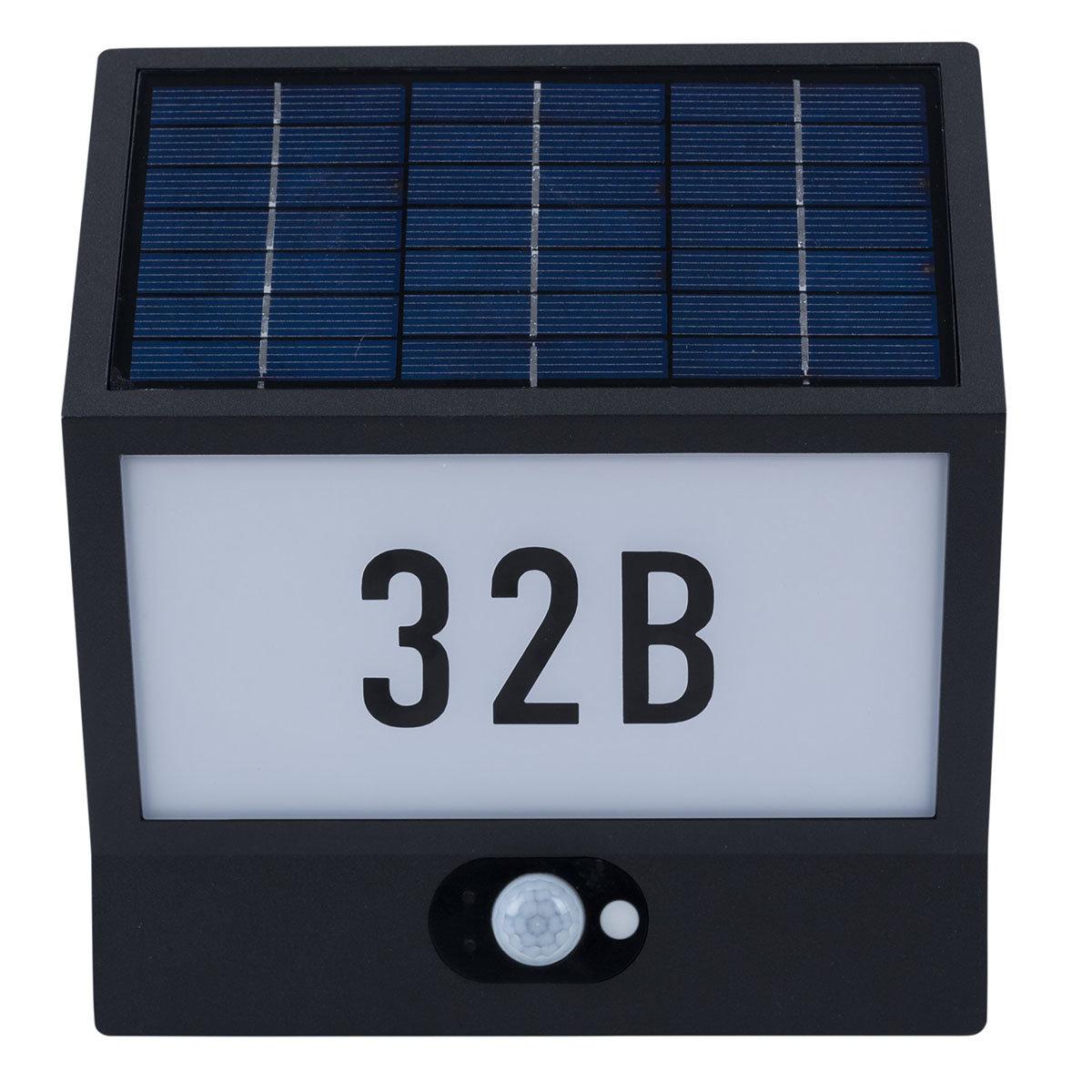 solar led hausnummernleuchte andrea von g rtner p tschke. Black Bedroom Furniture Sets. Home Design Ideas