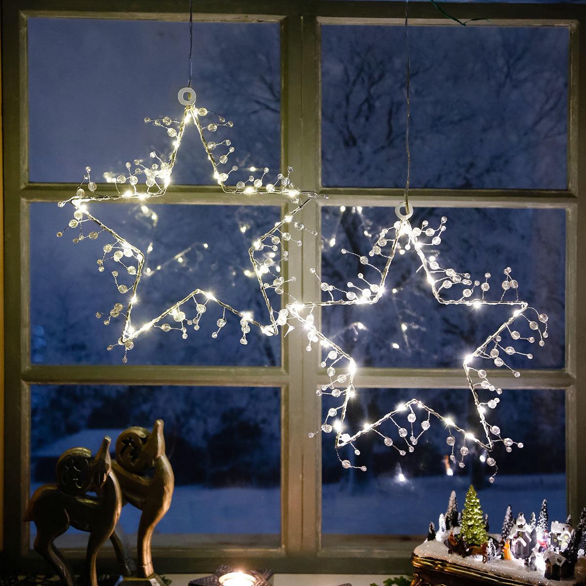 LED-Fensterstern Wintertraum | #2