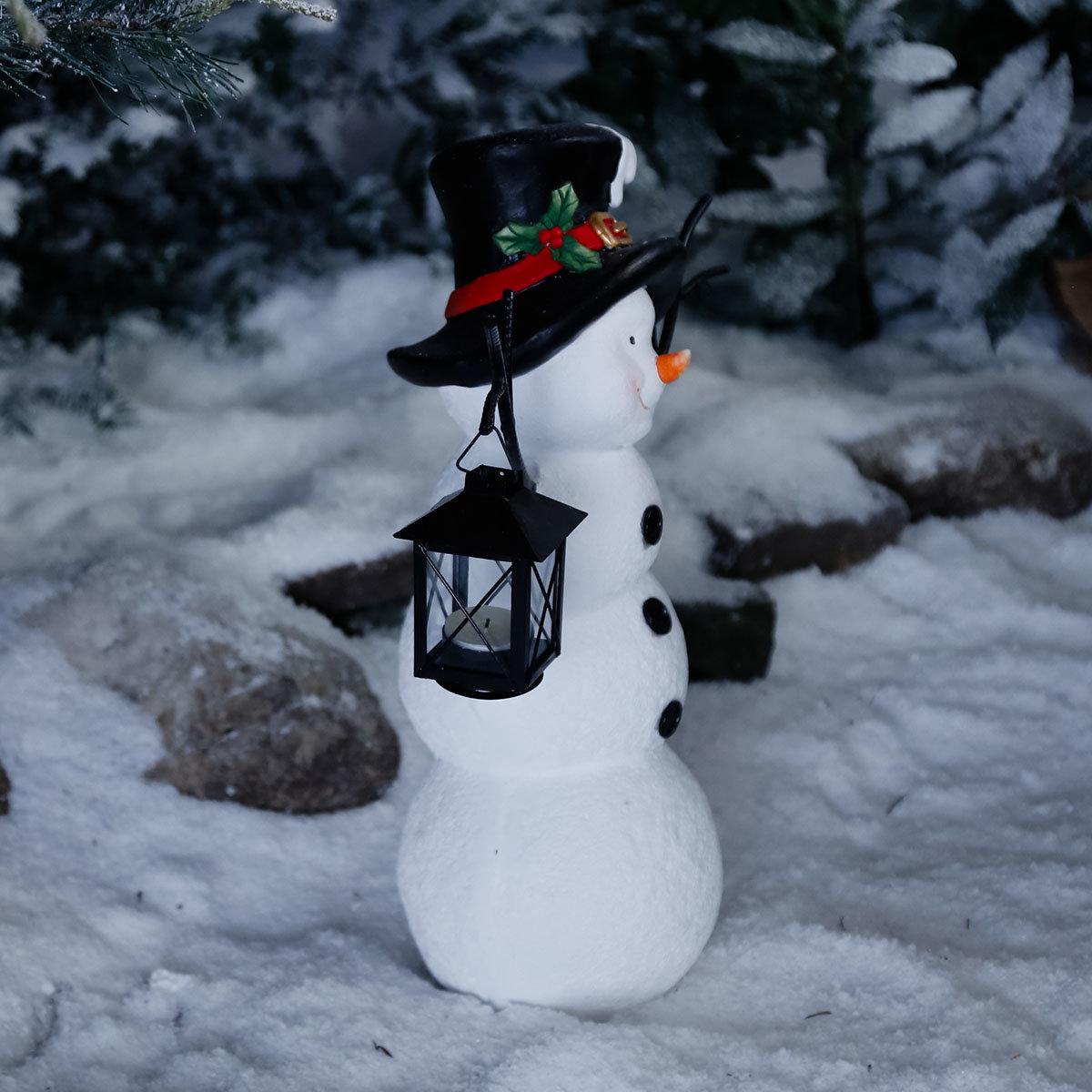 Schneemann Snowy mit Laterne | #2