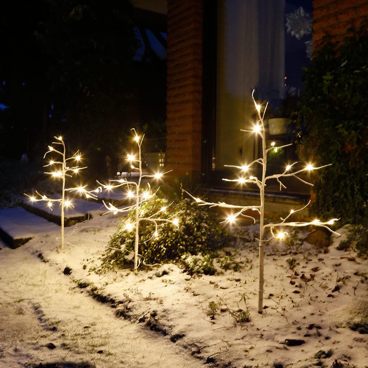 LED-Bäume Wintermärchen, 3er-Set   #2
