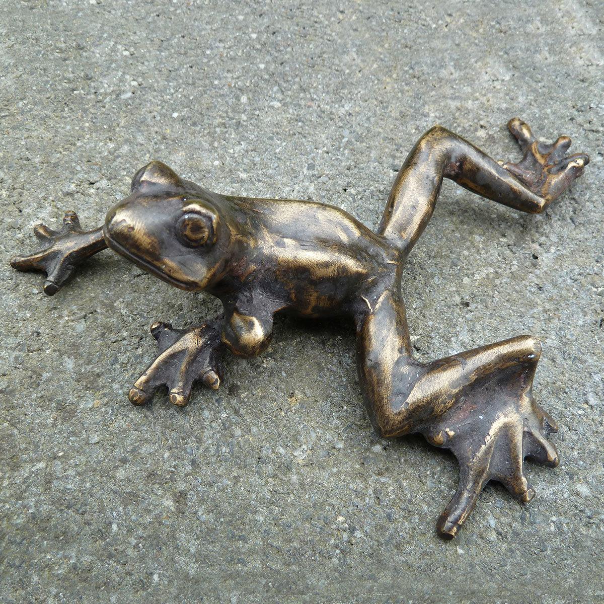 Bronze-Figur Frosch Friedel | #2