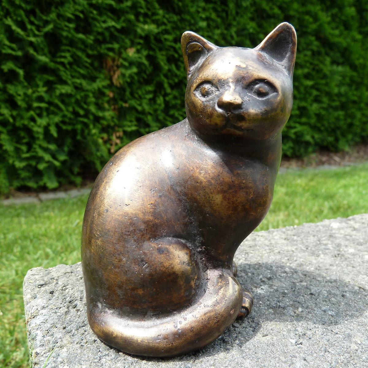 Bronze-Figur Katze Bijou | #2