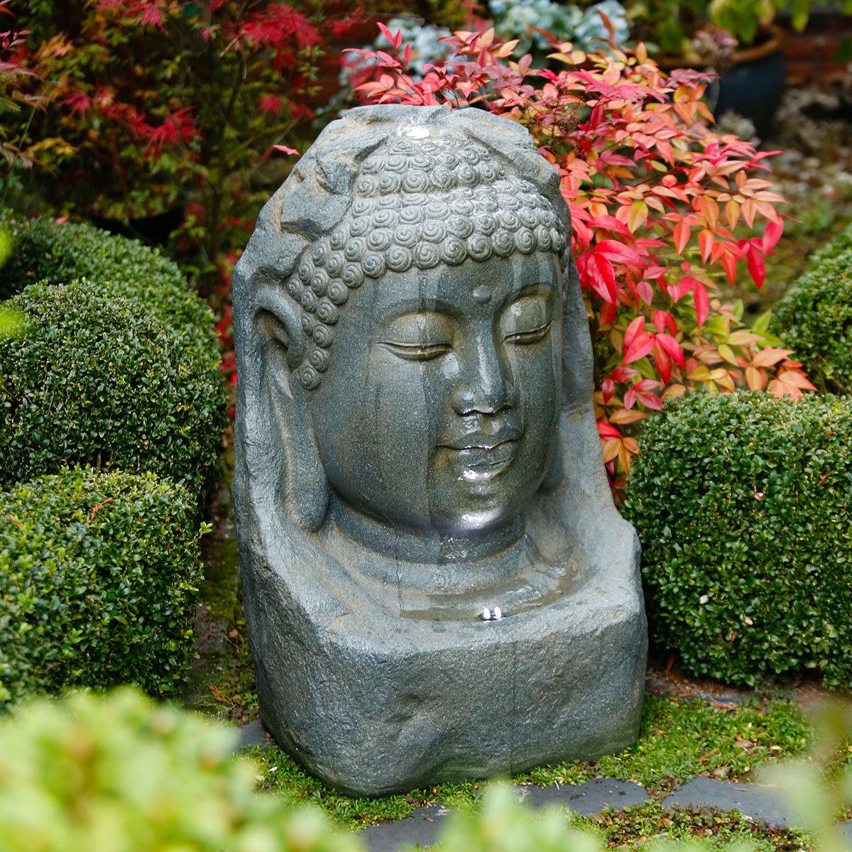 buddha brunnen bodhi von g rtner p tschke. Black Bedroom Furniture Sets. Home Design Ideas