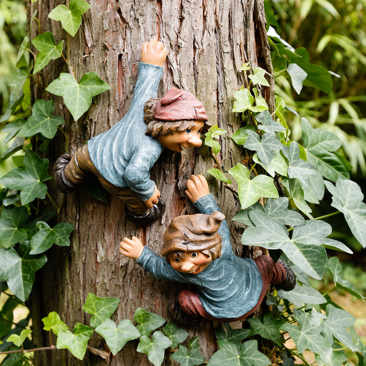 Gartenfigur Kletter-Gnom Tarzan | #2