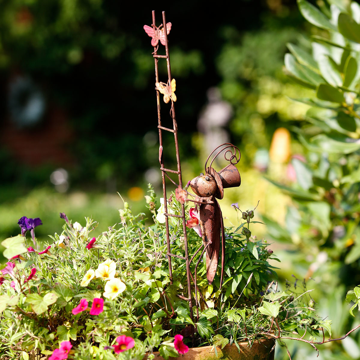 Gartenstecker Flip & Flop mit Leiter, 2er-Set | #2