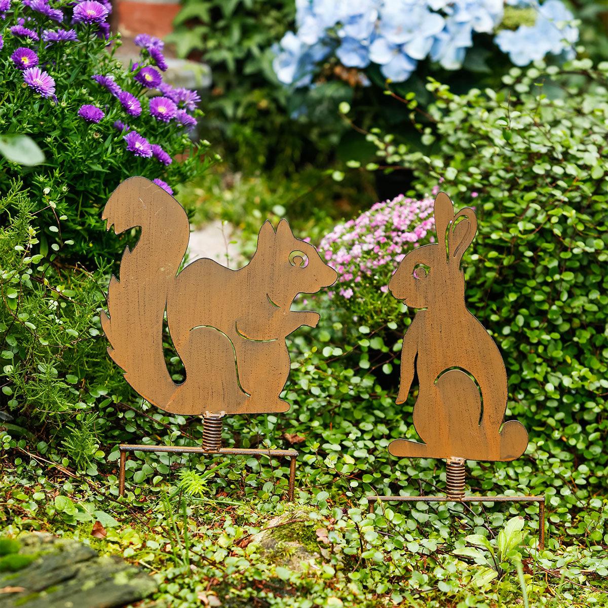 Gartenstecker Eichhörnchen Nüssli | #2