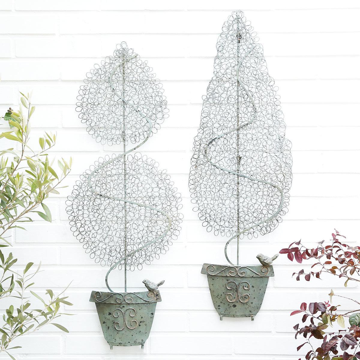 Gartenstecker Buchsbaum, 2er-Set | #2
