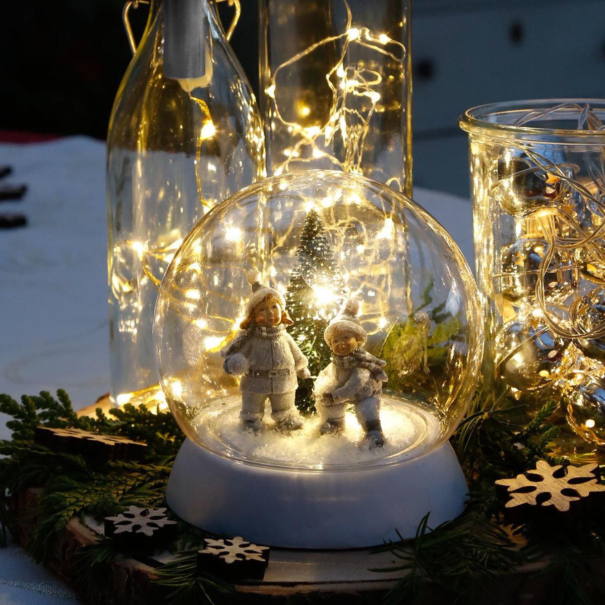 LED-Schneekugel Kinderglück | #2
