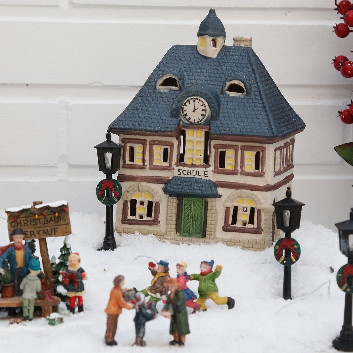 Miniatur-Lichthaus Alte Schule | #2