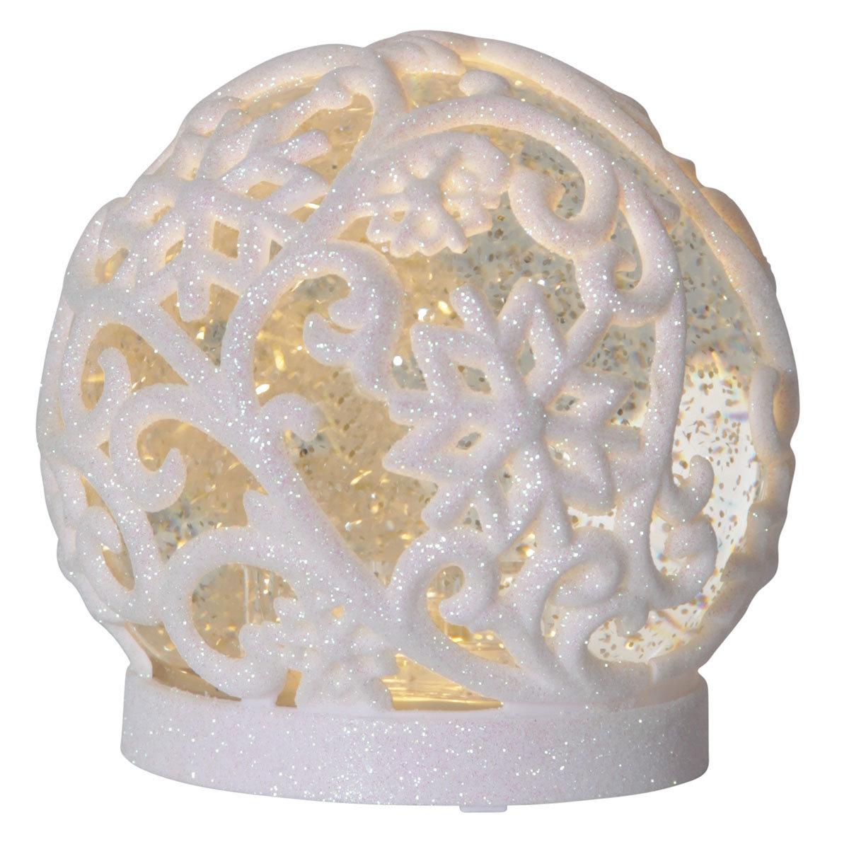 LED-Schneekugel Winterpoesie, klein | #2