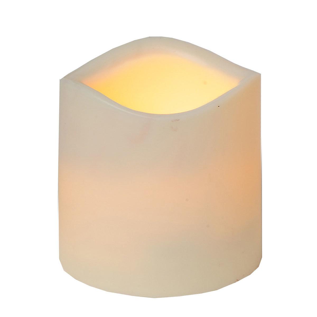 LED-Echtwachskerze Weihnachtszeit, klein | #2