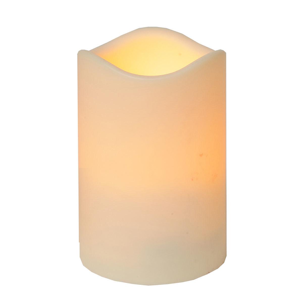 LED-Echtwachskerze Weihnachtszeit, mittel   #2