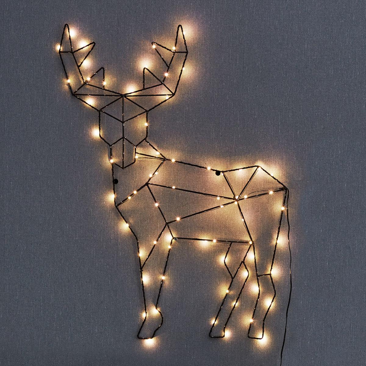LED-Wanddekoration Rentier Rico | #2
