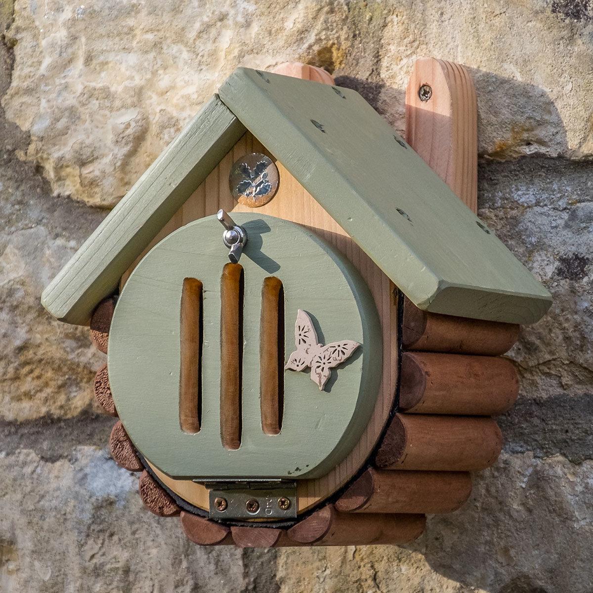 Schmetterlingshaus und -futterstelle Pastello | #2